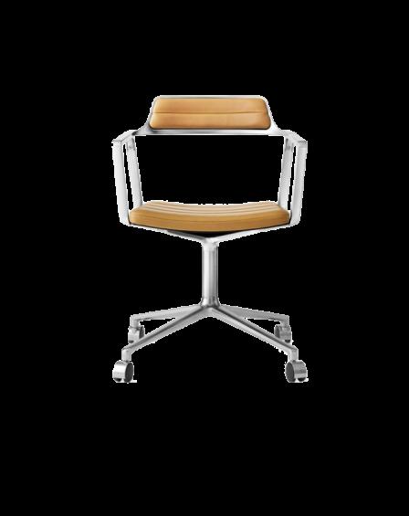Swivel chair w/ gliders