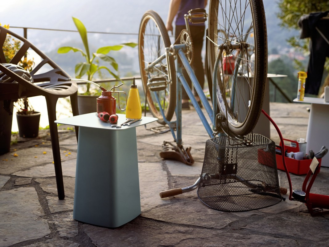 Metal Side Tables Outdoor