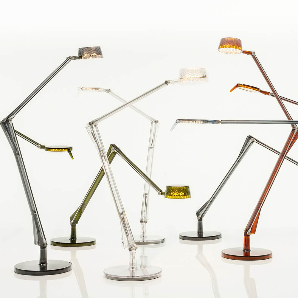 Aledin Tec Amber Table Lamp