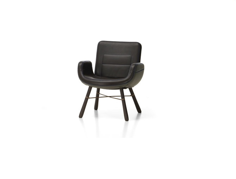 East River Leather Armchair