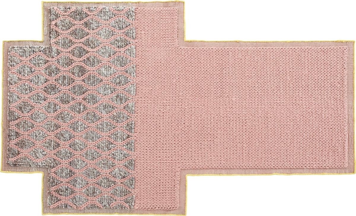 Rhombus. Pink
